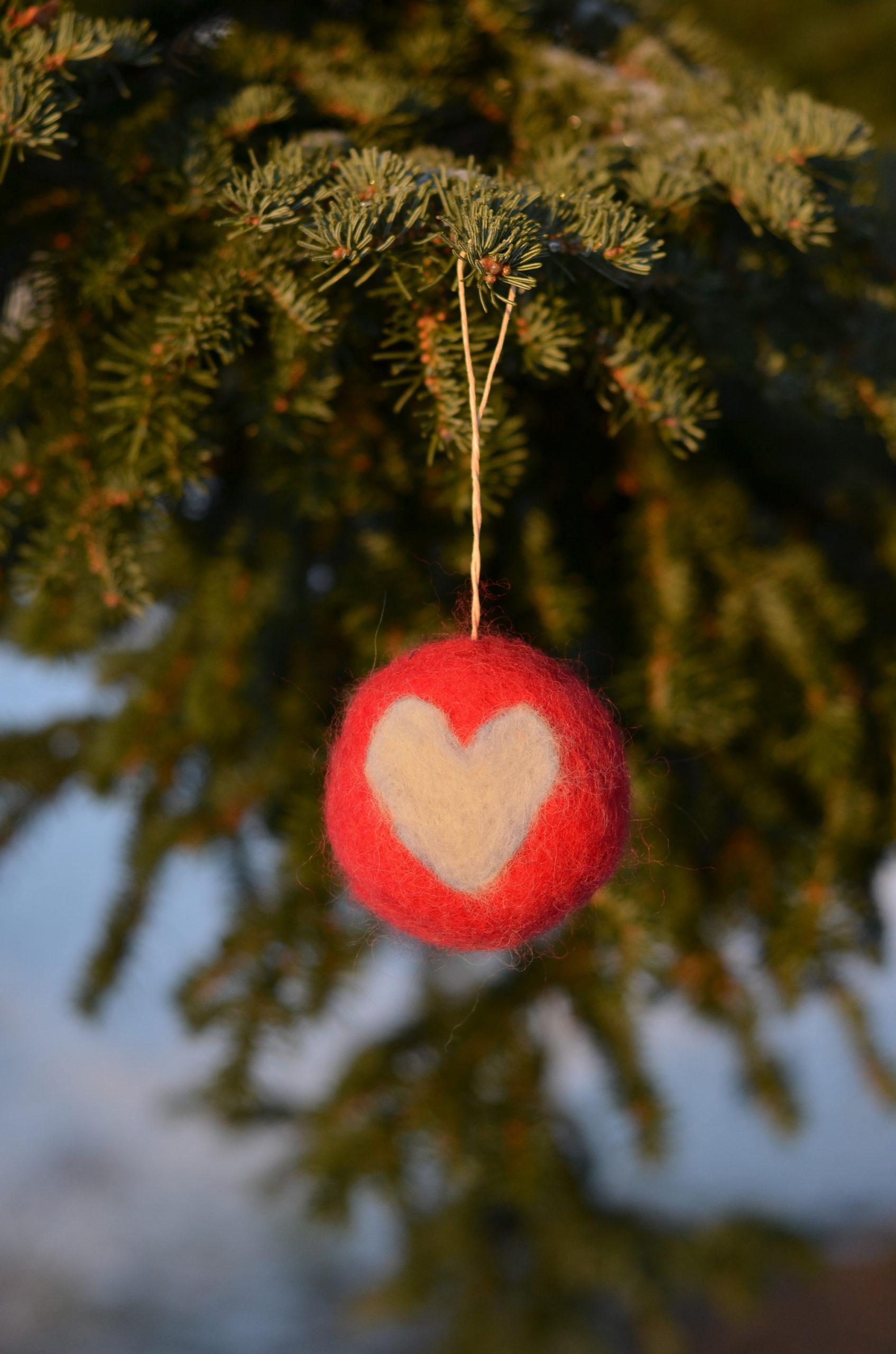 Nåltovad julkula